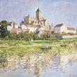 MFAH Claude Monet May 2014 - The Church at Vetheuil