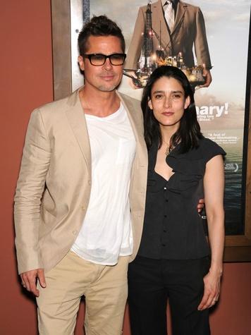 Brad Pitt and Rachel Boynton of Big Men