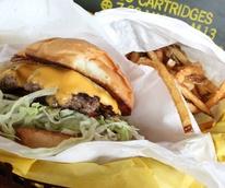 Burger at Off-site Kitchen in Dallas