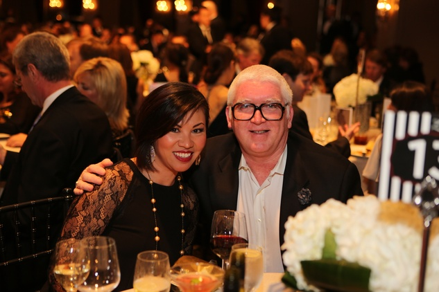 437 Annie Nguyen-Tan and Tim Moloney at Catwalk for a Cure November 2013