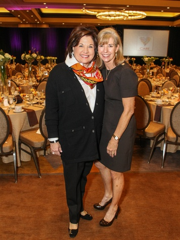 Lee Ann White and CARE Board Chairman Jan Osborn, CARE Breakfast
