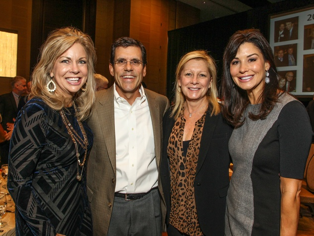Shirley Cohn, Scott and Shelby Dabney and Natalie McGuire, Care Breakfast