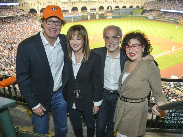 0005, Astros Opening Day Owner's Box, April 2013, NAMES, Alan Pactor, Roz Pactor