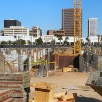 construction site in Houston inner loop