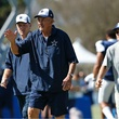 Dallas Cowboys defensive coordinator Monte Kiffin at training camp in Oxnard, Calif