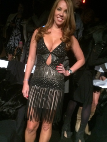 Dallasite Jaine Jackson in Herve Leger