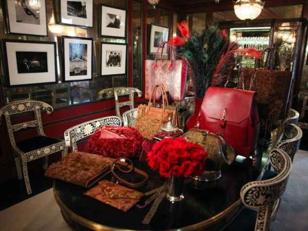Dee Ocleppo handbags at Plaza apartment