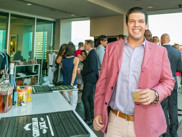 Justin Goodman at CultureMap Country Club Social