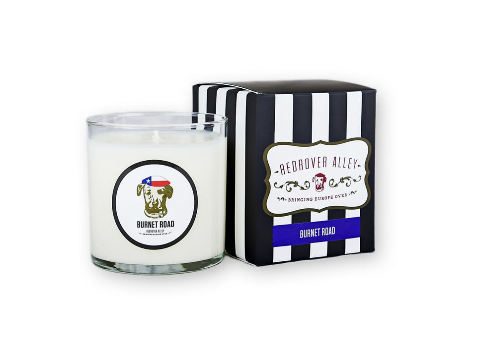 RedRover Alley Gift Guide - Burnet Road Candle - December 2014