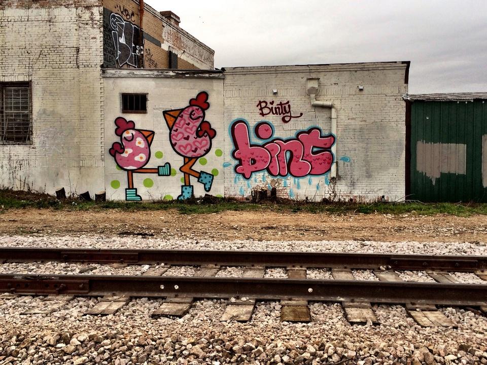 Street Art of Love and Heartbreak in Austin 3