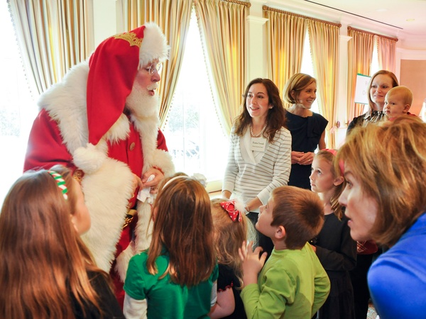 Houston Symphony, Magical Musical Morning, Good Ship Lollipop, December 2012, Santa Claus, St. Nick