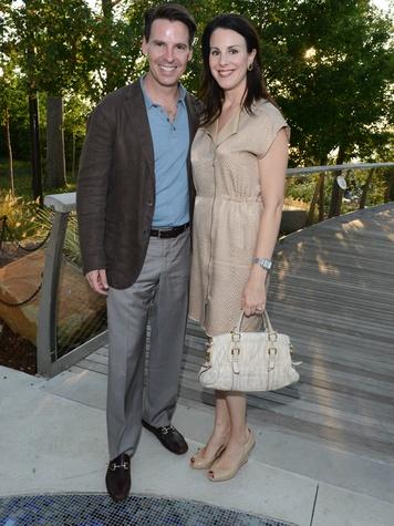 Chris and Rachel Trowbridge, Rory Meyers Children's Adventure Garden Gala