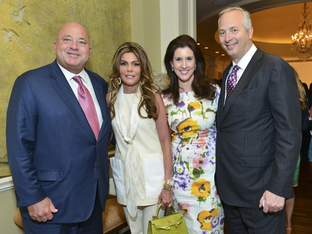 2 Mark and Debra Grierson, from left, and Phoebe and Bobby Tudor at the I Am Waters Luncheon April 2014