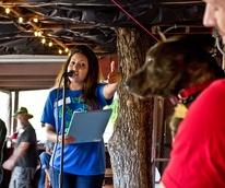 Dallas Animal Services rally, Suleika Bloom