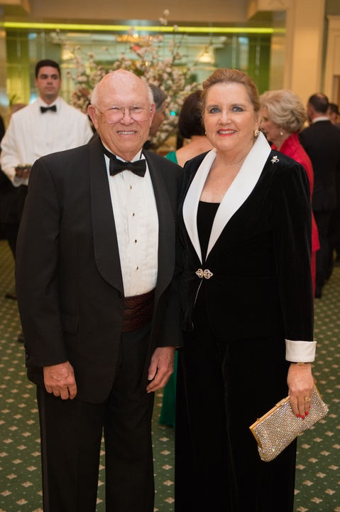 1249 Dick Evans and Michele Beale at the Houston Grand Opera HGO 60th Anniversary March 2015