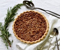 Pecan pie, Buttermilk Sky Pie Shop, Colleyville