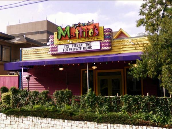 Mattito S Restaurant Leaves Uptown Dallas Digs For Odd Spot