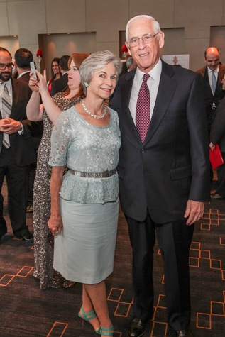Anne and Dr. John Mendelsohn at the Interfaith Ministries Tapestry Gala May 2014