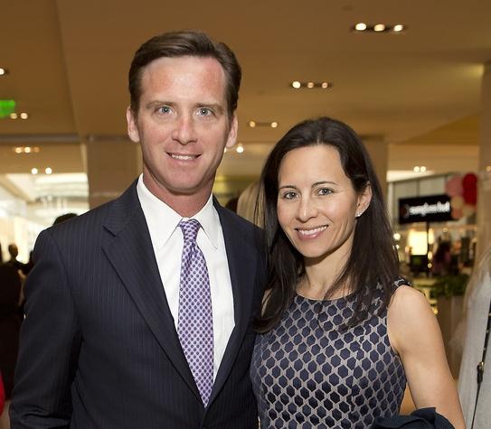 1 David Hartland and Claudine Hartland at Bo's Place luncheon February 2015