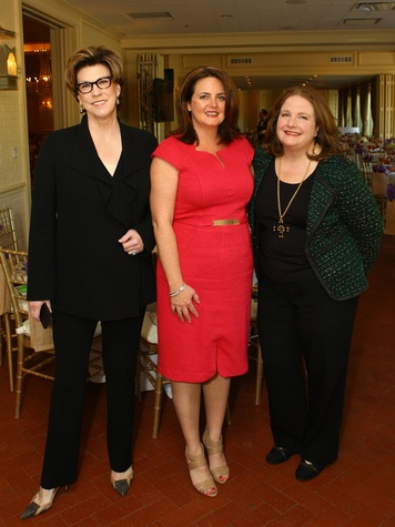 Julia Reed, featured author, Jennifer Evans Morris, Chick Lit Luncheon chair, Paige McDaniel, president and CEO, Community Partners of Dallas