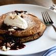 Helen brunch semolina pancakes