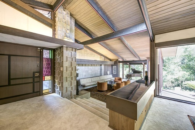 Mid Century Modern Home Commissioned By Billionaire Is 4