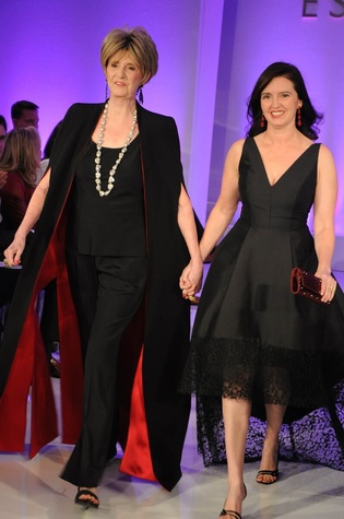 Harriet Hart, Meredith Barineau at Elizabeth Anthony Generations of Glamour