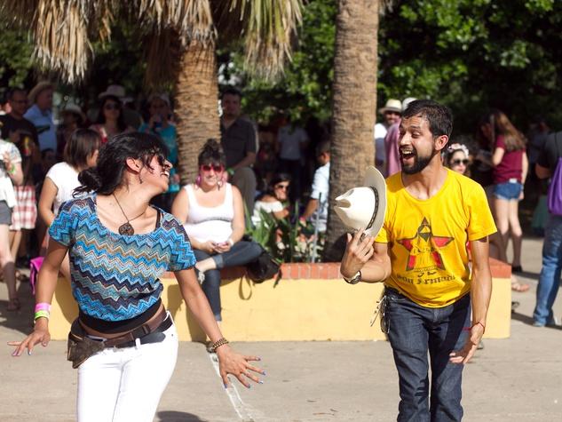 Pachanga Fest 2014 at Fiesta Gardens Mario Garza Rosio Torres