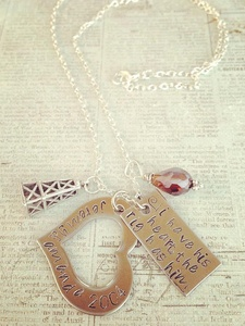 Deborah Elias, January fab finds, January 2013, Stamped &amp; Strung, necklace, jewelry