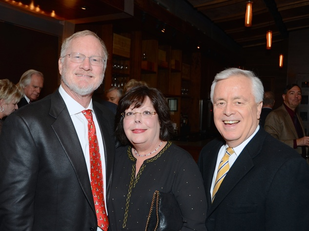 4 Keith and Melinda Landsness, left, with Don Sweat at Joyful Toyful December 2014
