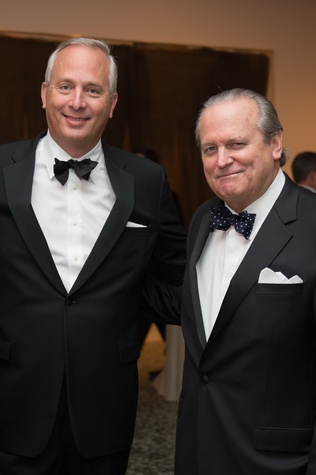 Bobby Tudor, left, and Pat Oxford at Museum of Fine Arts Houston MFAH One Great Night November 2014