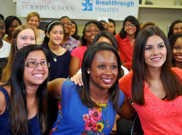 Breakthrough Houston Michelle Obama Google Hangout