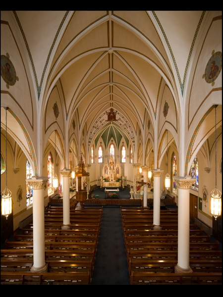 01, AIA Houston, Sacred Spaces, audio photo essay, November 2012, St. Mary&#39;s Catholic Church, Fredericksburg