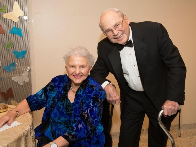 Caroline Rose Hunt, Robert Backbill, Flora Award