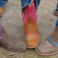 7, RodeoHouston, Larry White, boot shiner, cowboy boots