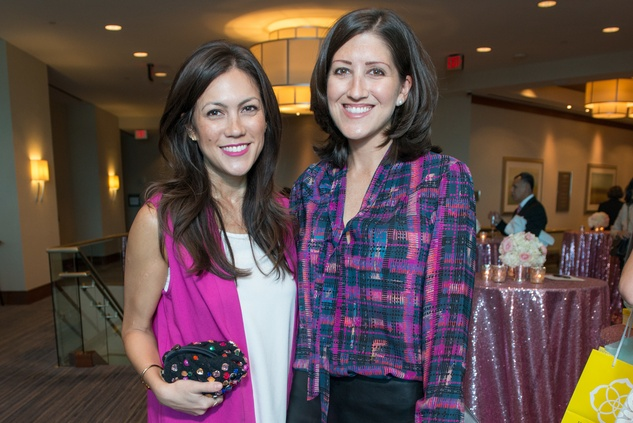 News, Shelby, Razzle Dazzle Memorial Hermann, Oct. 2015 Alana Highberger and Caroline Brown