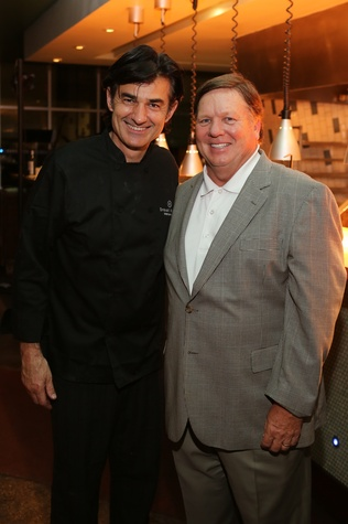 13 Philippe Schmit, left, and Bill Floyd at TUTS' Vine & Dine November 2014