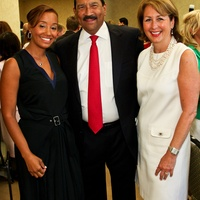 News_Children's Defense Fund luncheon_May 2012_Arvia Few_Michael Trevino_Ileana Trevino