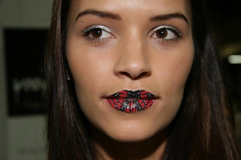 Henna Tattoo Galveston Tx: Slideshow: Tattooed Lips And Eye Patches: The Latest Hair