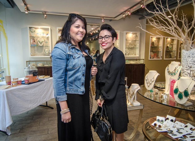 Austin fashion week Kendra scott 2013 Veronica and Glo Villareal
