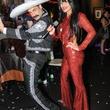 5 Damon and Jennifer Pampolina at Hotel ZaZa's Halloween party October 2013