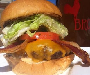 hamburger burger BRC Pub Burger