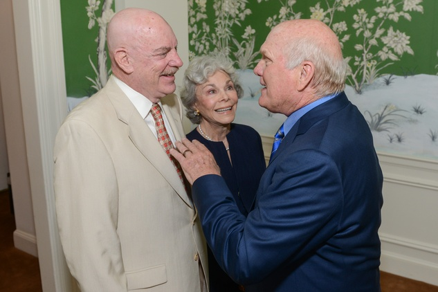 News, Shelby, Terry Bradshaw luncheon, Sept. 2014, Bob McNair, Janice McNair, Terry Bradshaw