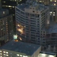 Houston Club Building implosion