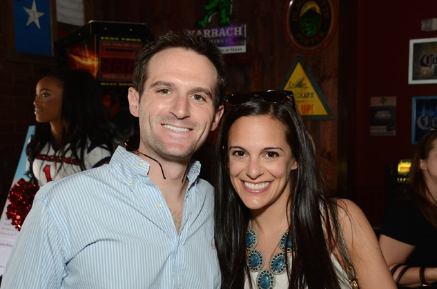 Eric Danziger and Allie Herzog Danziger at the Women of Wardrobe Spring Fling March 2014