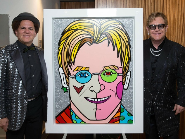 Celebrated Pop Artist S Colorful Work Comes To Austin For