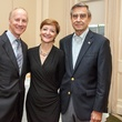 11 Patrick Phillips, from left, Ann Taylor and Roger Galatas at the Urban Land Institute Houston mixer October 2014