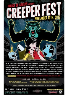 "House of Creeps' ""Creeperfest"""