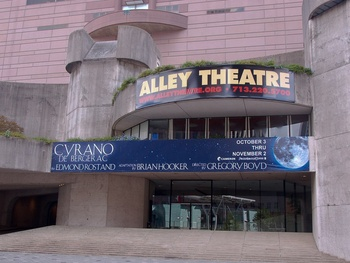 Places-A&amp;E-Alley Theatre exterior day THIS