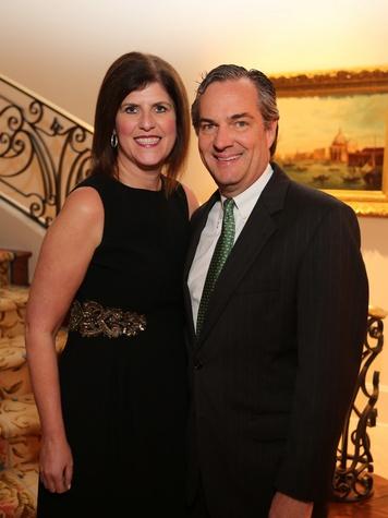 7 Gina and Mark Metts at the HGO Opera ball kick-off party January 2014